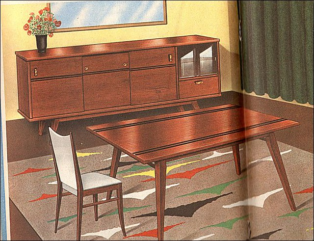 The 1960s modern dining room flickr photo sharing