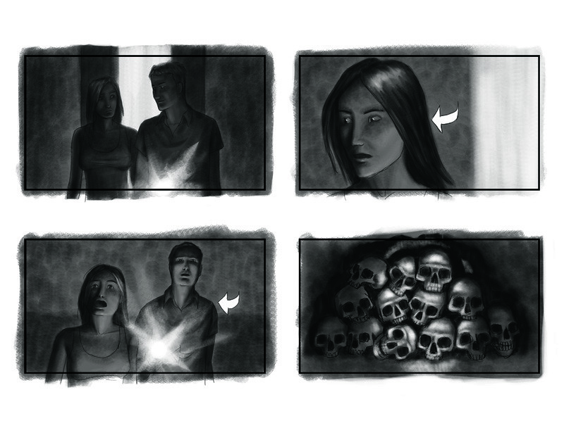 horror movie storyboard 02 from Padraig Reynold\u0027s film Rit\u2026 Flickr