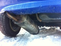 Broken exhaust pipe | I guess that's one if the few things ...