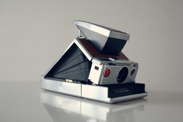polaroid sx-70, camara polaroid, sx-70, camara de pelicula instantanea