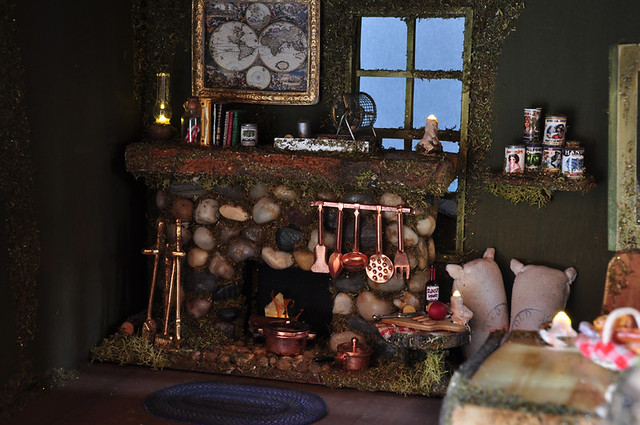 Fairy house fireplace flickr photo sharing