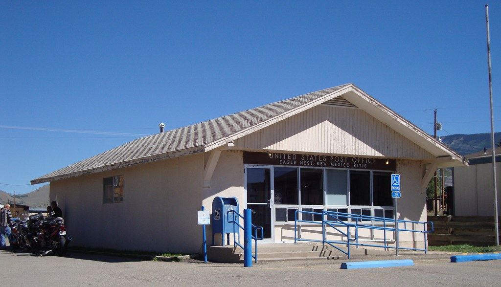 Post Office 87718 (Eagle Nest, New Mexico) Eagle Nest is a\u2026 Flickr