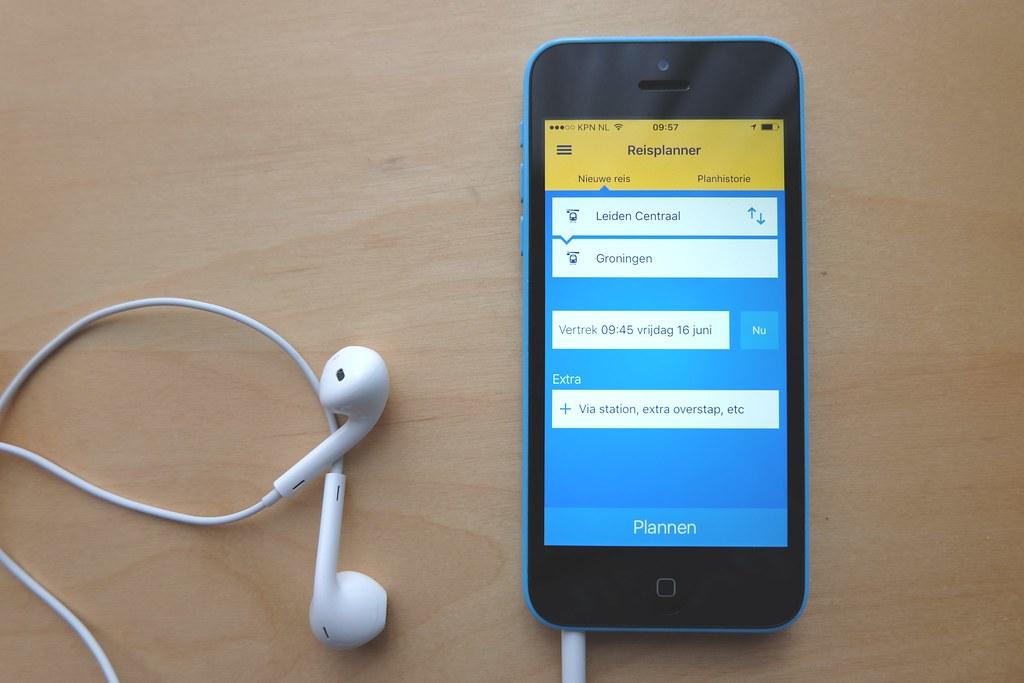 NS Reisplanner The Reisplanner (travel planner) app of the\u2026 Flickr
