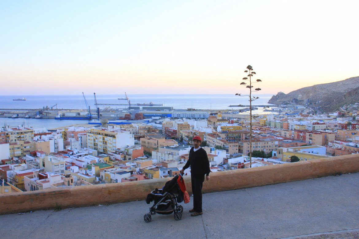 Almeria sunset walk