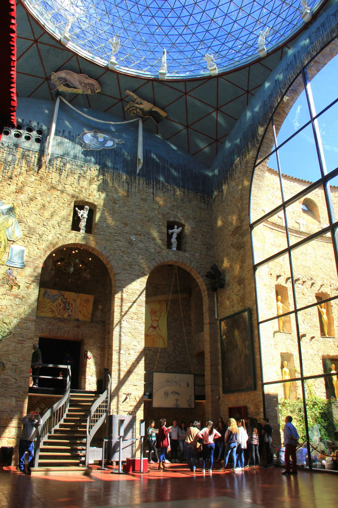 Visit the Dali museum in Spain