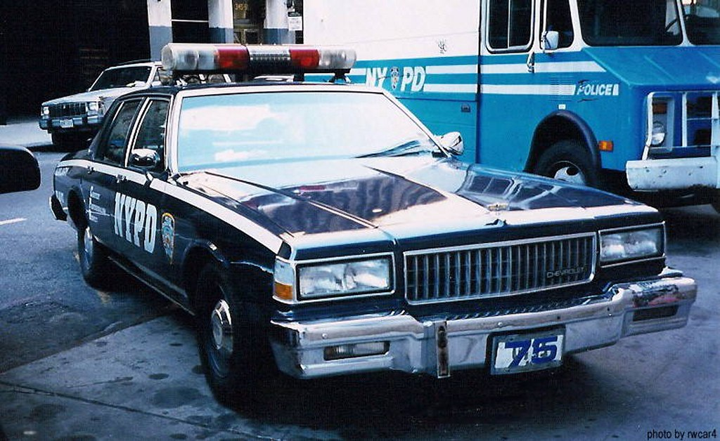 NYPD - 1990 Chevrolet Caprice - Auxiliary Police MS Pct (1\u2026 Flickr