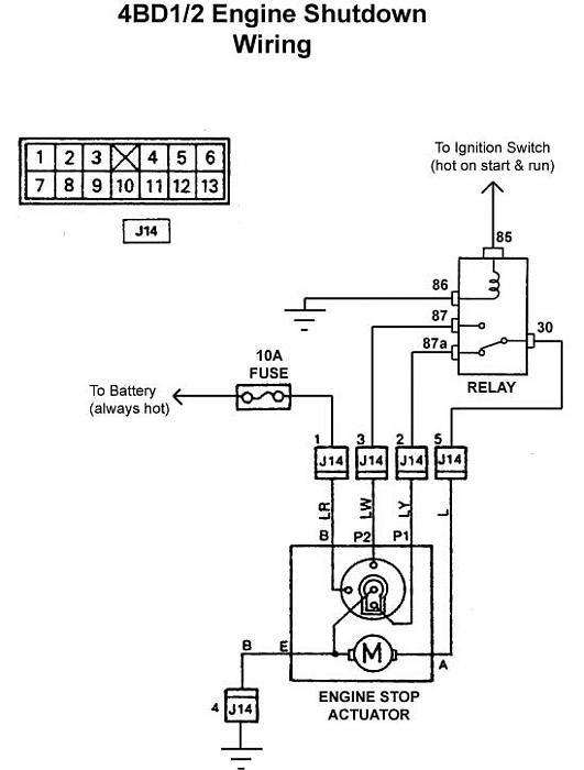 Isuzu 4ja1 Wiring Diagram Electronic Schematics collections