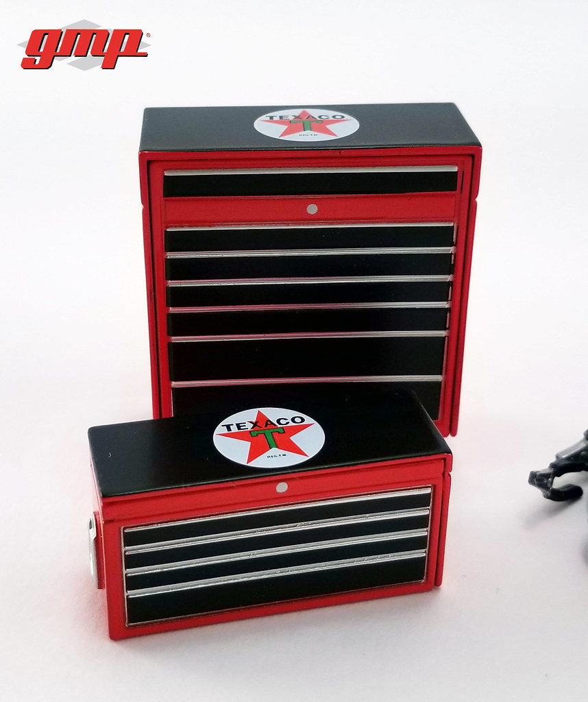 Shop Tool Boxes Gmp 18870 1 18 Gmp Shop Tool Set 1 Texaco Tool Boxes Flickr