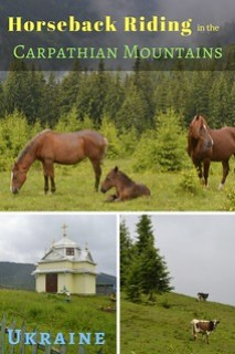 A 2 Day Horseback Riding Trip in the Carpathian Mountains, Ukraine