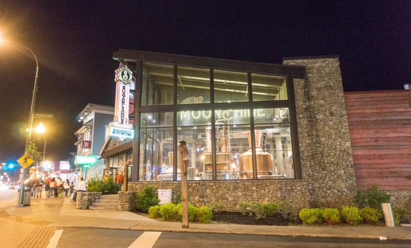 Sugarlands Distilling is Located in Downtown Gatlinburg.