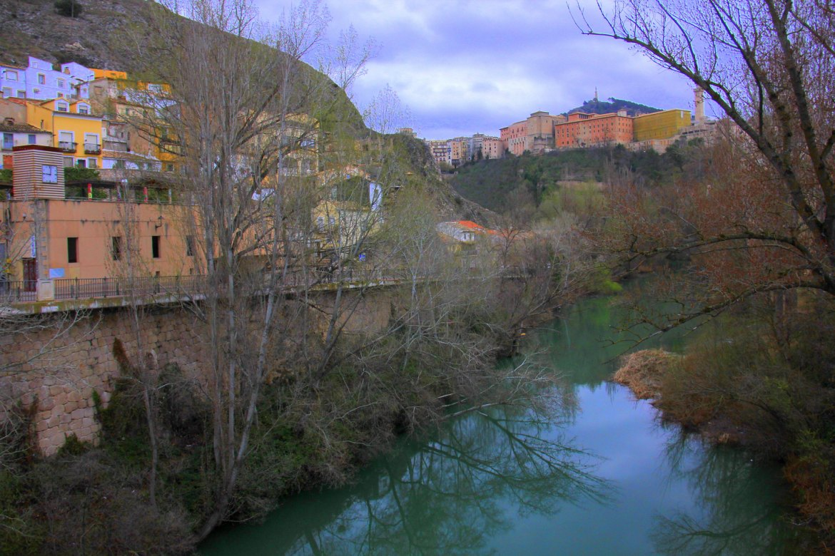 Cuenca overlooks the steep gorges between two rivers