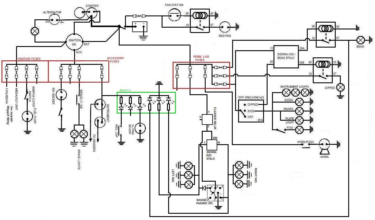 koso replica wiring diagram