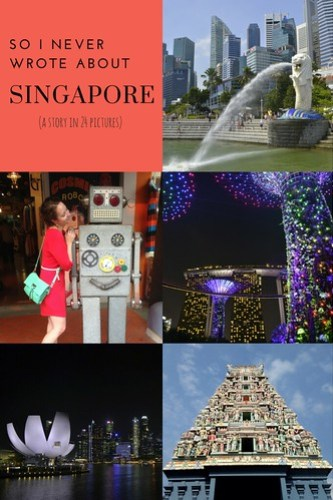 I Never Wrote About Singapore