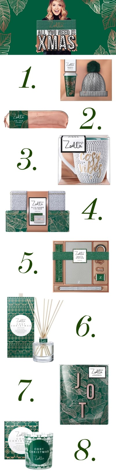 First Look at Zoella Lifestyle Christmas Collection 2017 ...