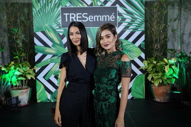 Joey Mead & Phoemela Baranda at Tresemme