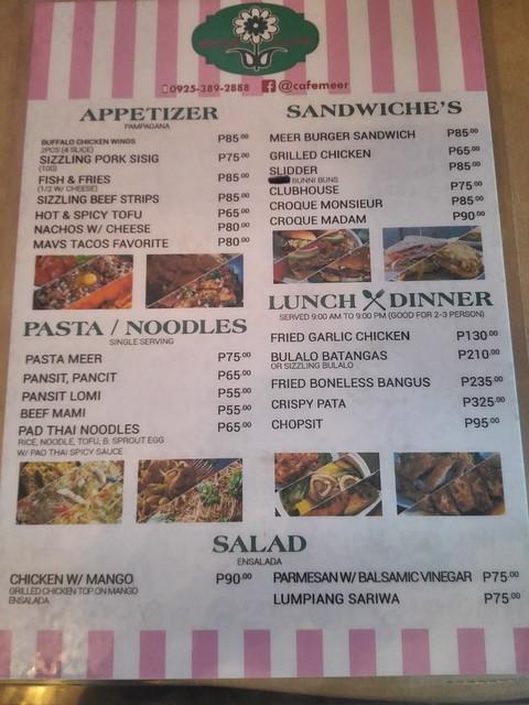 Cafe Meer Tagaytay
