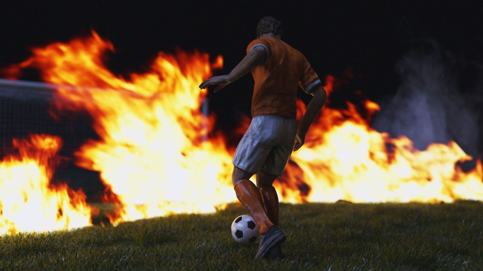 2d, 3d, active, ball, competition, epic, football, lights, media, soccer, social, sport, sports, transform