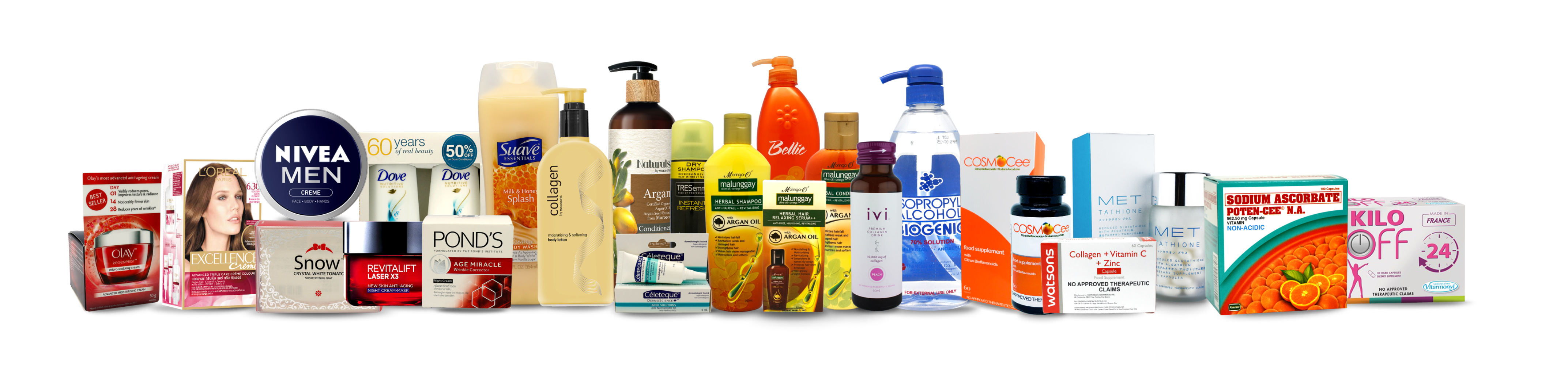Watsons TIme To Renew Products