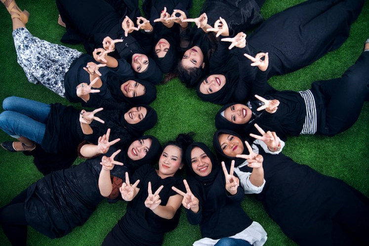 gofotovideo makeup artist / tata rias universitas negeri jakarta 0219