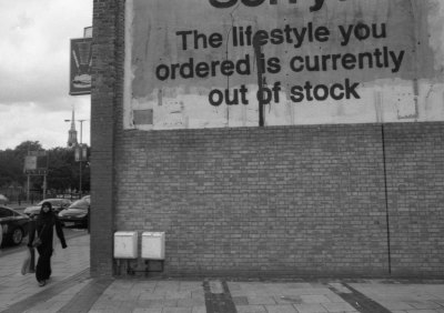 The Lifestyle you ordered is currently out of stock ...