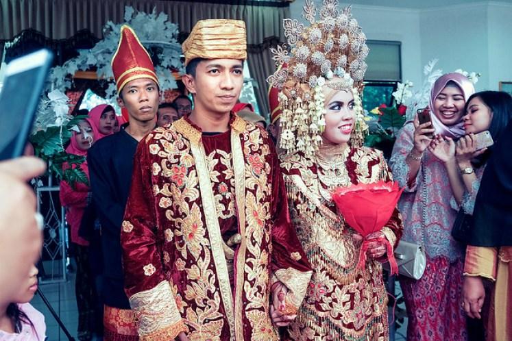 gofotovideo pernikahan adat minang di graha wredatama 151