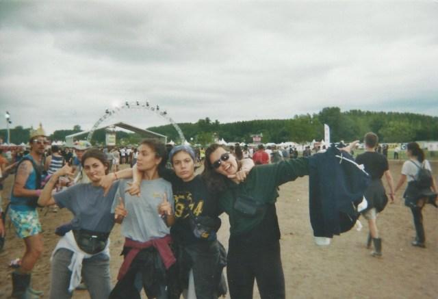 Festival Garorock musique filles ambiance en exterieur