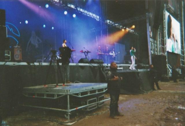 Concert de la Femme au festival Garorock