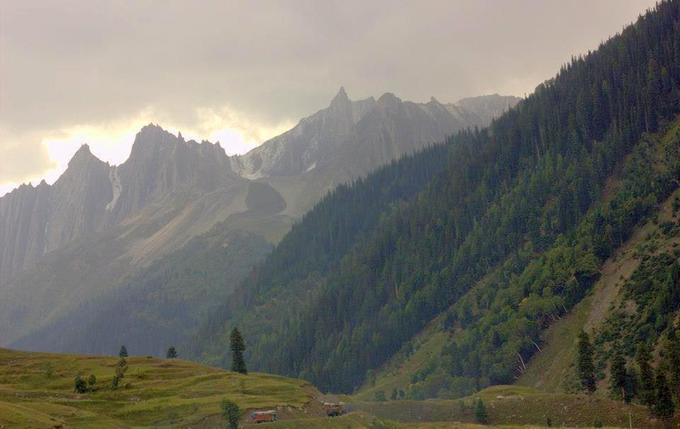 Habba Khatoon peak near Gurez