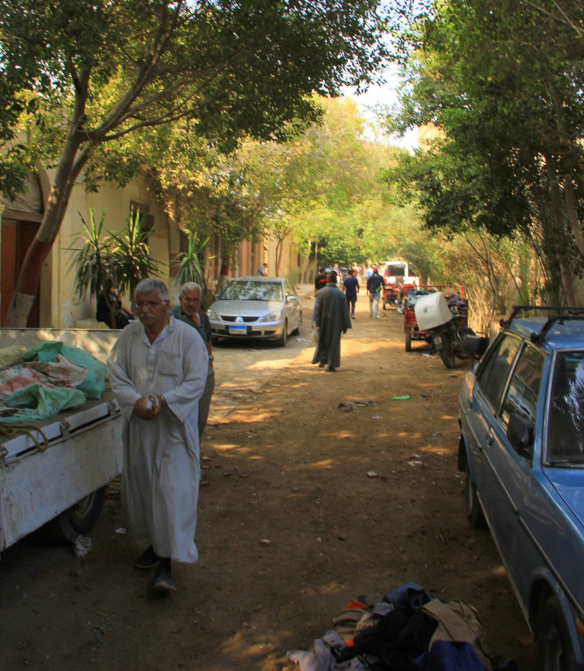 Different sections of souq al goma