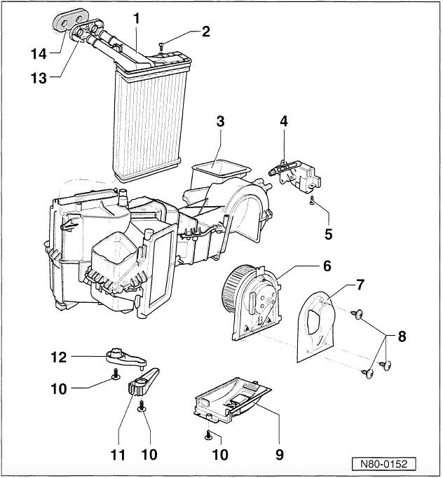 Heater Box Diagram - Wiring Diagram Detailed