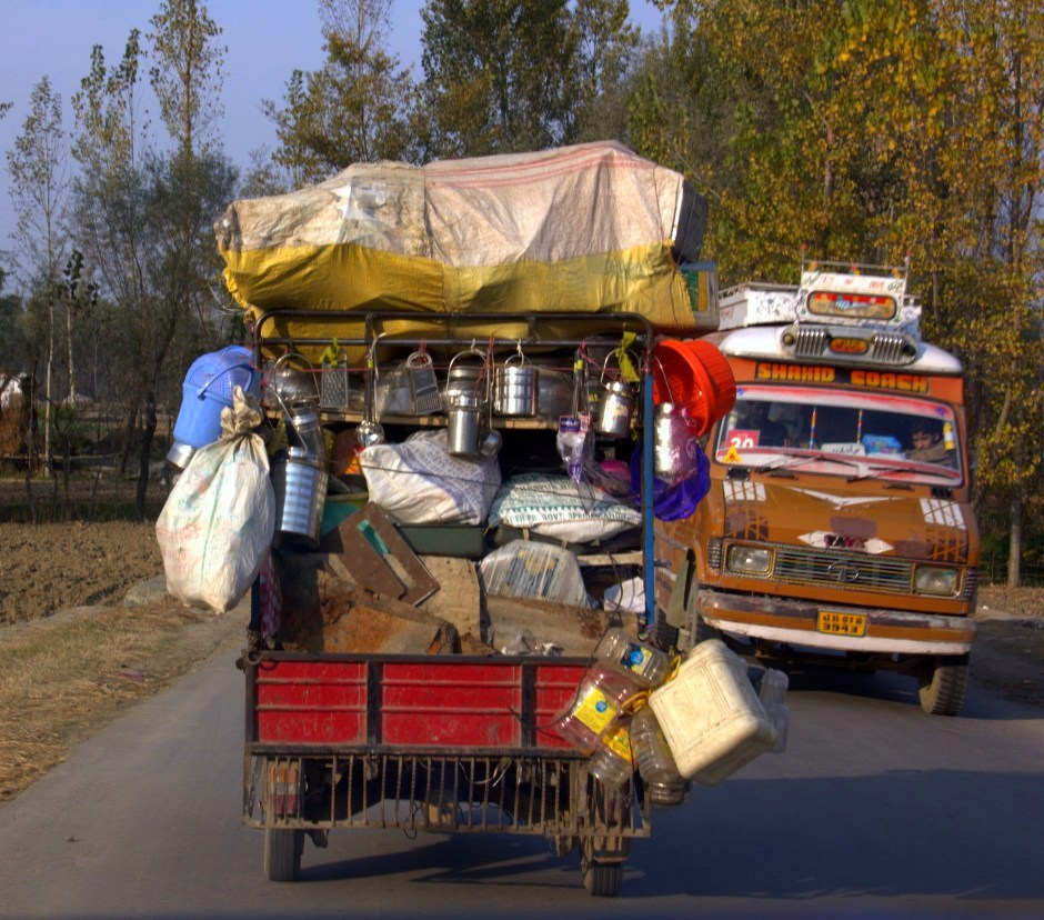 Kashmir highway leading to Gurez
