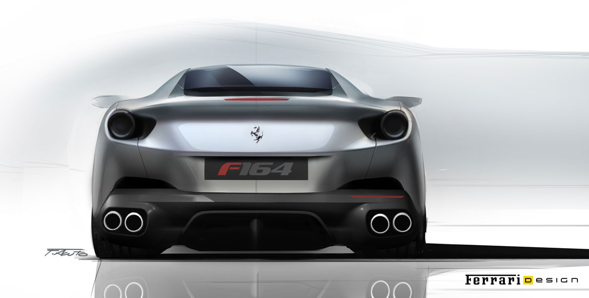 Ferrari Portofino sketch by Federico Acuto SKETCHES Pinterest - personal guarantee form