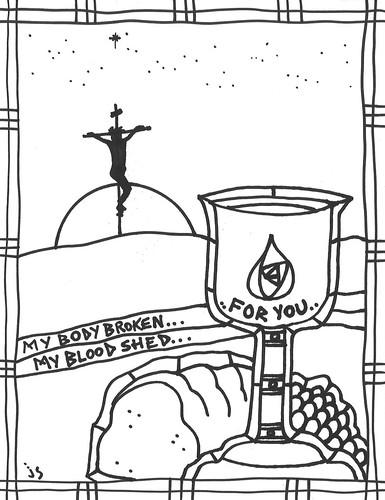 church bulletin clip art \u2013 Stushie Art - free black and white bulletin covers
