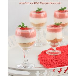 Small Crop Of Strawberry Mousse Cake
