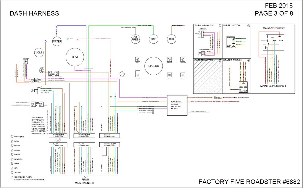 factory five roadster wiring diagram