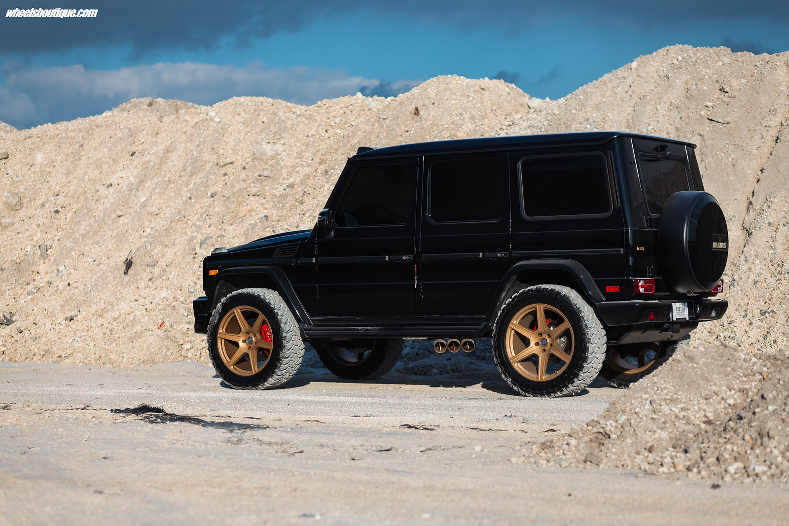 Satin Nussbaum The Brabus Brawler - Another Lifted Mercedes G63 By Teamwb