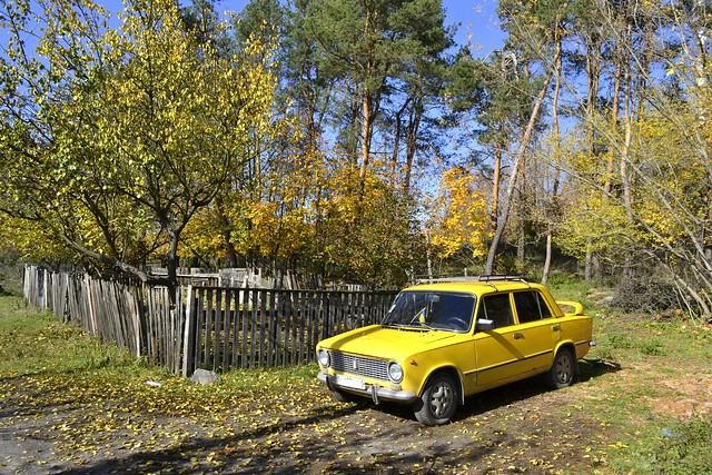 Ukraine Travel FAQ - Lada in the fall