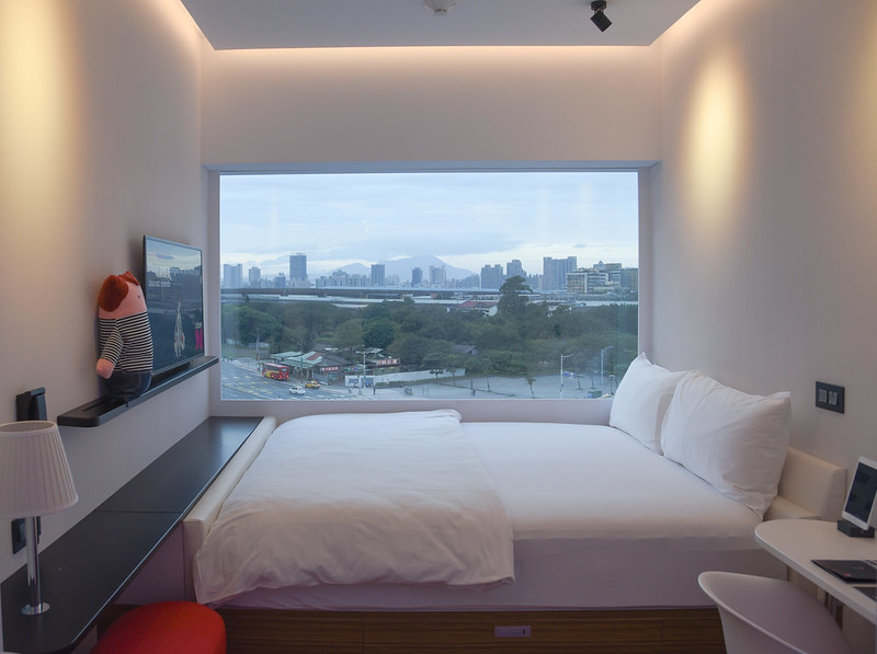 double room at citizenm taipei north gate