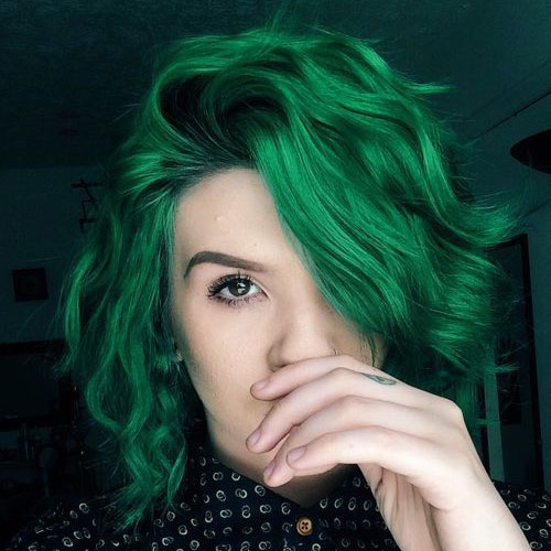 African Hair Cuts For Ladies Top 20 Glamorous Green Hairstyle Ideas For 2018 Fashionre