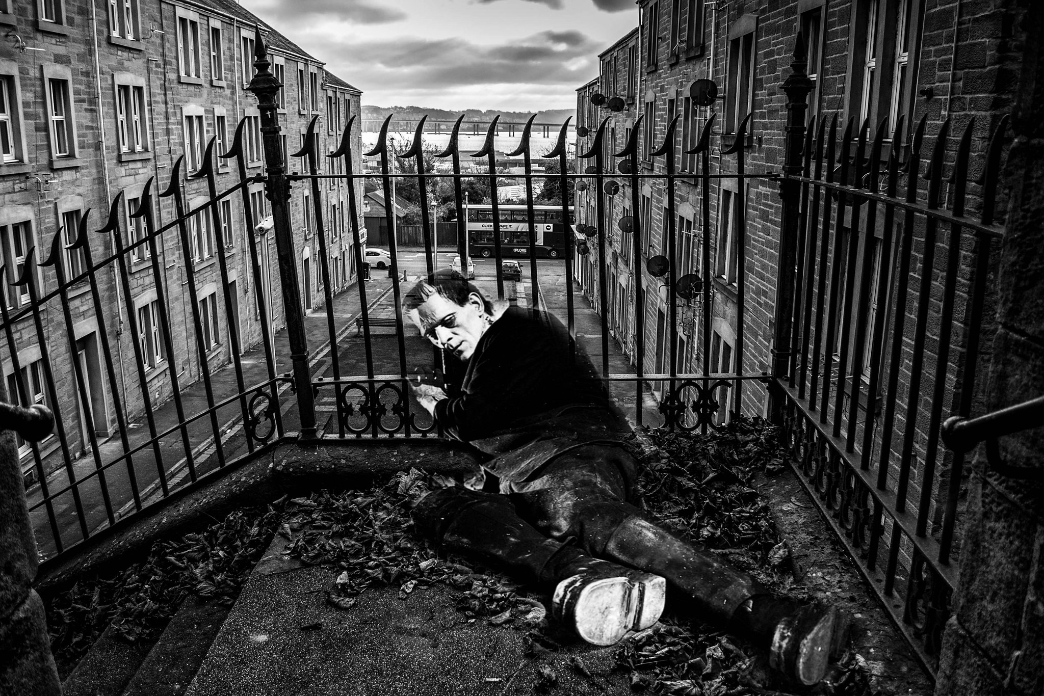 Black White Blogger Photography