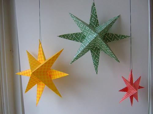Christmas Star Decorations - Craft Maltings - christmas star decorations