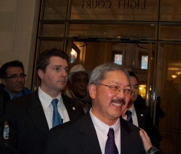 Reception after Ed Lee sworn in as San Francisco Mayor 44