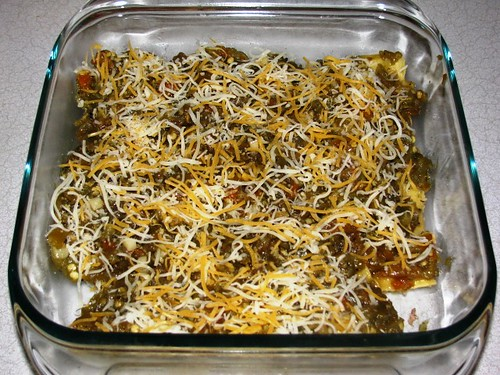 Smoked Chicken Enchilas with Roasted New Mexico Hatch Chilis