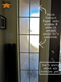 How to frost a window