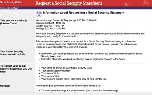 How to Get Your Social Security Statement Online - Good Financial Cents