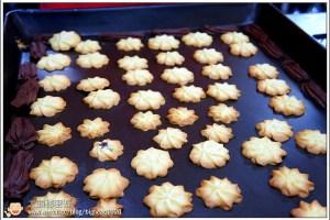 [手工餅乾]雙色酥餅