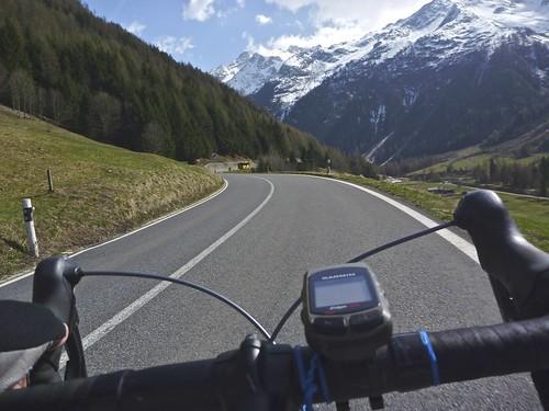 Route to Col de la Forclaz