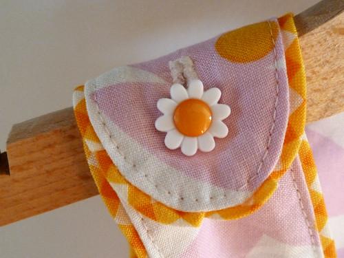 Tropical blend sleeveless dress - button
