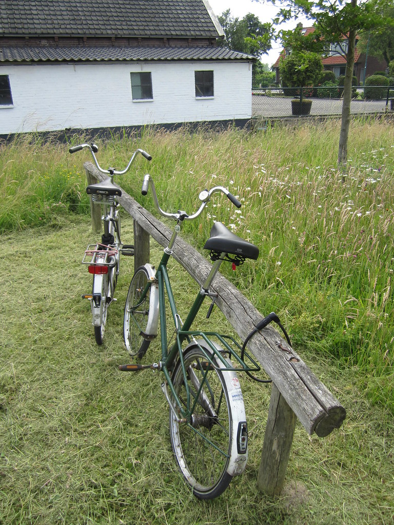 Fietsenrek Hout The World S Newest Photos By Dirk Spaans Flickr Hive Mind