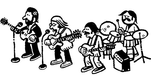 some guys in a band